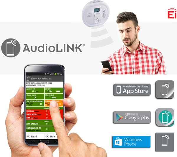 AudioLINK for iOS, Android in Windows phones